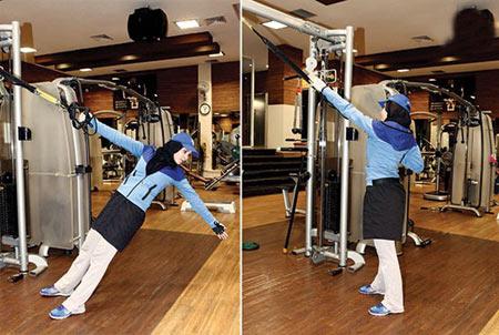 تمرینات TRX,کش بدنسازی,کاهش وزن