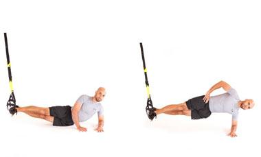 کاهش وزن و تناسب اندام با تمرینات TRX (+تصاویر)