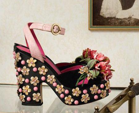 کلکسیون کفش دی اند جی D&G پاییز 2015