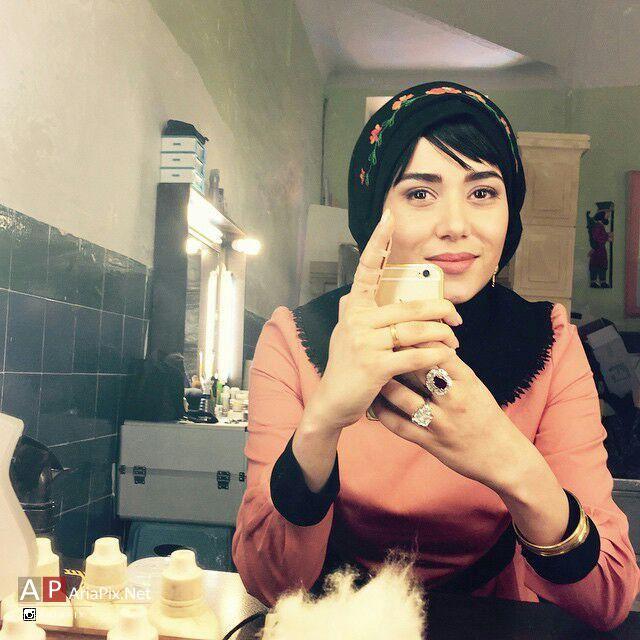 پریناز ایزدیار نقش شیرین در سریال شهرزاد