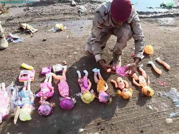 عروسکهایی داعشی برای هدف گرفتن زائران کربلا+ تصاویر