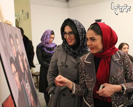 نتیجه تصویری برای تصاویری از حجاب جالب هنرمندان ایرانی + عکس