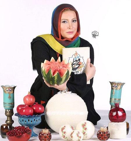 عکس های دیده نشده بازیگران زن مشهور ایرانی شب یلدا 1394