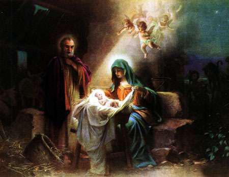 کارت پستال تولد حضرت عیسی,حضرت عیسی مسیح