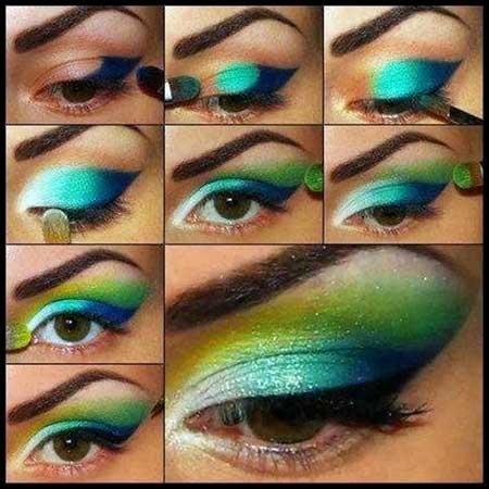 آموزش زیباترین مدل آرایش چشم و ابرو 2016