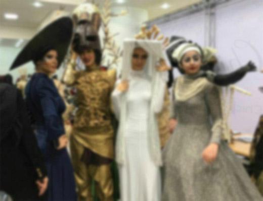 تصاویر جنجالی از شوی لباس در دانشگاه الزهرا