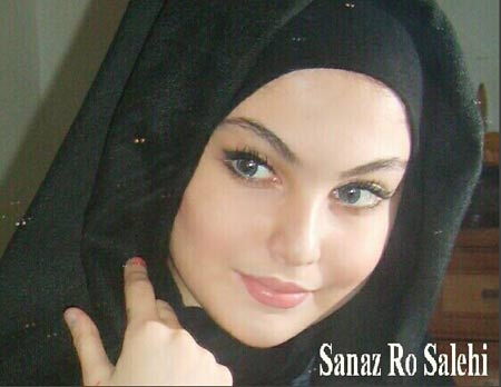 ساناز صالحی زیباترین دختر ایران را ببینید +عکس