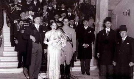 فوزیه همسر محمدرضا پهلوی