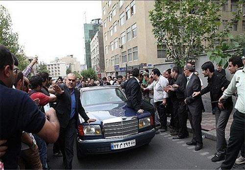 عکس: بنز جدید هاشمی رفسنجانی