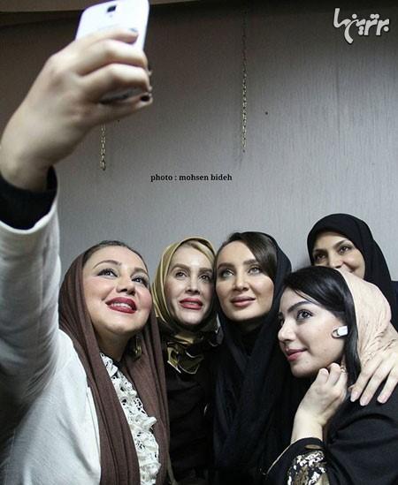 سلفی های لو رفته بازیگران ایرانی در سال 2016