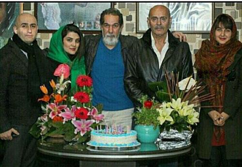 خانم بازیگر خارجی سریال کیمیا در تولد پدر شوهر ایرانیش +عکس و مصاحبه