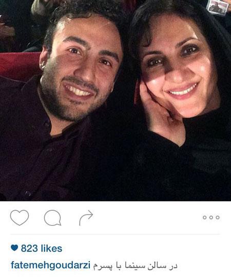 سلفی های دیده نشده از بازیگران ایرانی 2016