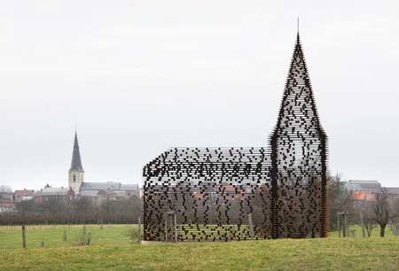 کلیسای شفاف،  از عجایب کلیساهای جهان +تصاویر