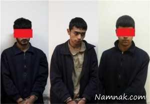 دستگیری متهمانتعرض به پسرجوان در اکباتان تهران