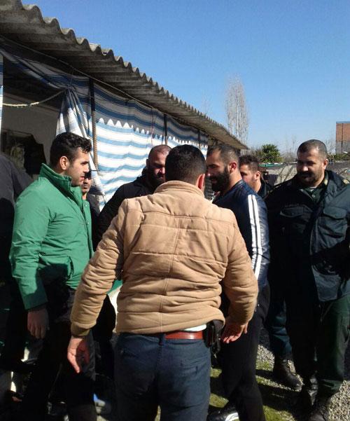 جدیدترین تصاویر دستگیری و گرداندن شاه مازندران در محل جرم