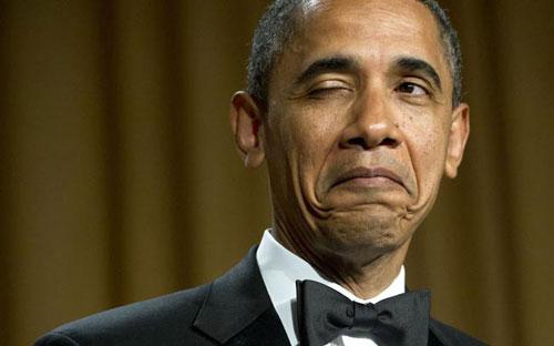 تیپ داش مشتی اوباما لو رفت +عکس