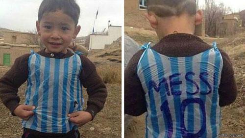 لیونل مسی برای کمک به مرتضی احمدی اعلام آمادگی کرد +عکس