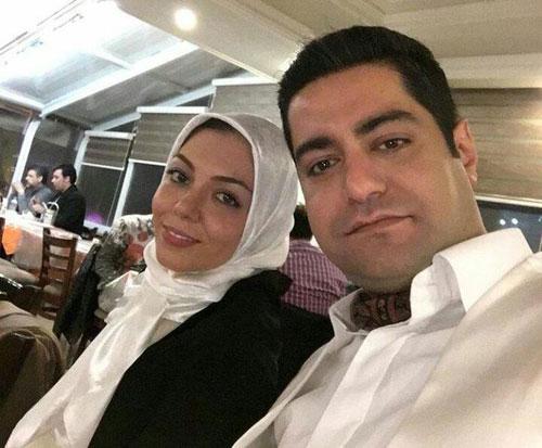 عکس جالب آزاده نامداری و همسر جدیدش در جشنواره فیلم فجر