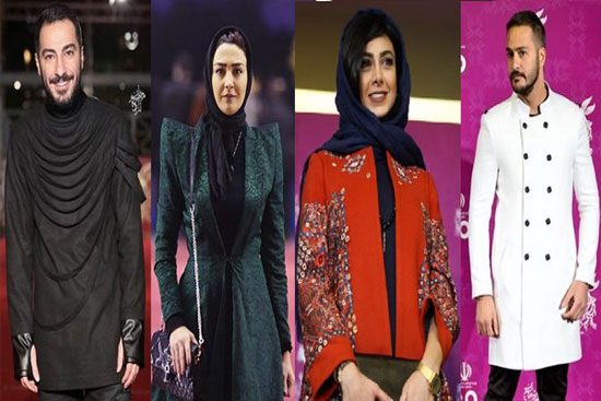 لباس های بی حجاب بازیگران در جشنواره فجر ۹۴