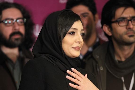 عکس دیده نشده ساره بیات در کاخ جشنواره