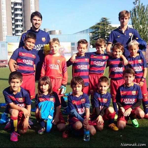 بازیکن ایرانی به تیم بارسلونا پیوست + عکس