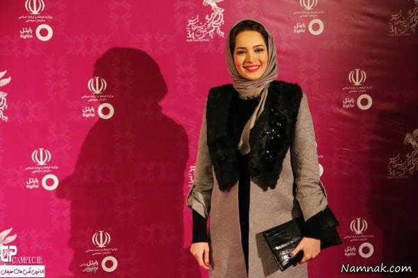 بازیگران جشنواره فجر ، بازیگران جشنواره فجر 94 ، تیپ بازیگران زن در جشنواره فیلم فجر