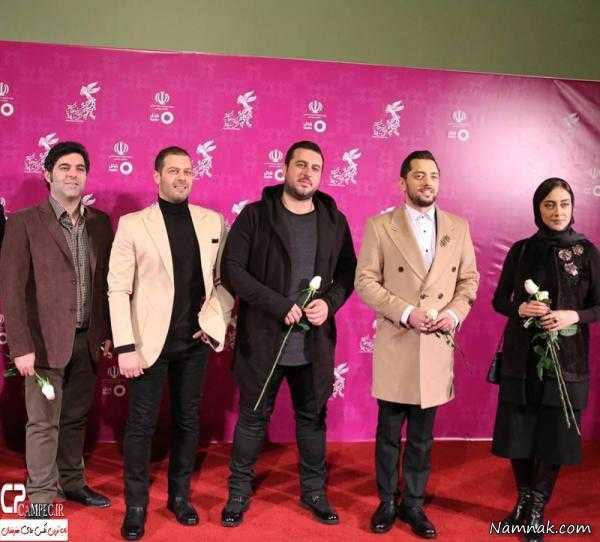 بازیگران جشنواره فجر ، تیپ بازیگران در جشنواره فجر ، مانتو بازیگران زن ایرانی