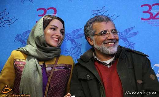 بهروز افخمی و مرجان شیرمحمدی ، بازیگران و همسرانشان ، عکسهای بازیگران ایرانی و همسرانشان