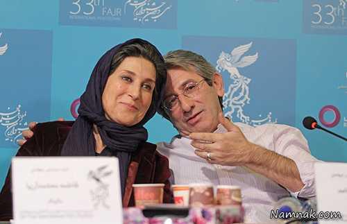 احمد حامد و فاطمه معتمد آریا ، عکسهای بازیگران ایرانی و همسرانشان ، زوج های سینمایی ایرانی