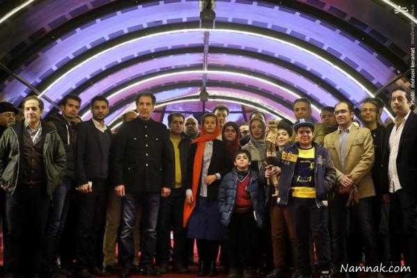حاشیه های جالب نهمین روز جشنواره فیلم فجر ، حاشیه های نهمین روز جشنواره فیلم فجر ، عکس های نهمین روز جشنواره فیلم فجر