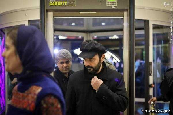 تصاویر نهمین روز جشنواره فیلم فجر با حضور بازیگران مطرح ، مانی حقیقی ، امیر مهدی ژوله