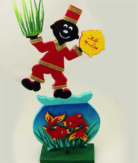 ساخت عروسک حاجی فیروز با خمیر چینی,عروسک حاجی فیروز با خمیر چینی