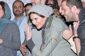 عکسهای بدحجاب سحر دولت شاهی, پژمان بازغی و بهرام رادان در فرش قرمز روز هفتم جشنواره