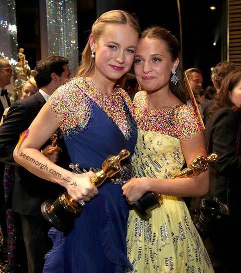 بهترین بازیگر زن و بهترین بازیگر مکمل زن ( بری لارسن و آلیسیا ویکاندر)