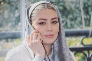 عکسهای حجاب سحر قریشی با لنز های رنگی اش! عکس