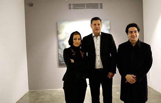 علی دایی و خواننده مشهور و هنرمند زن (عکس)