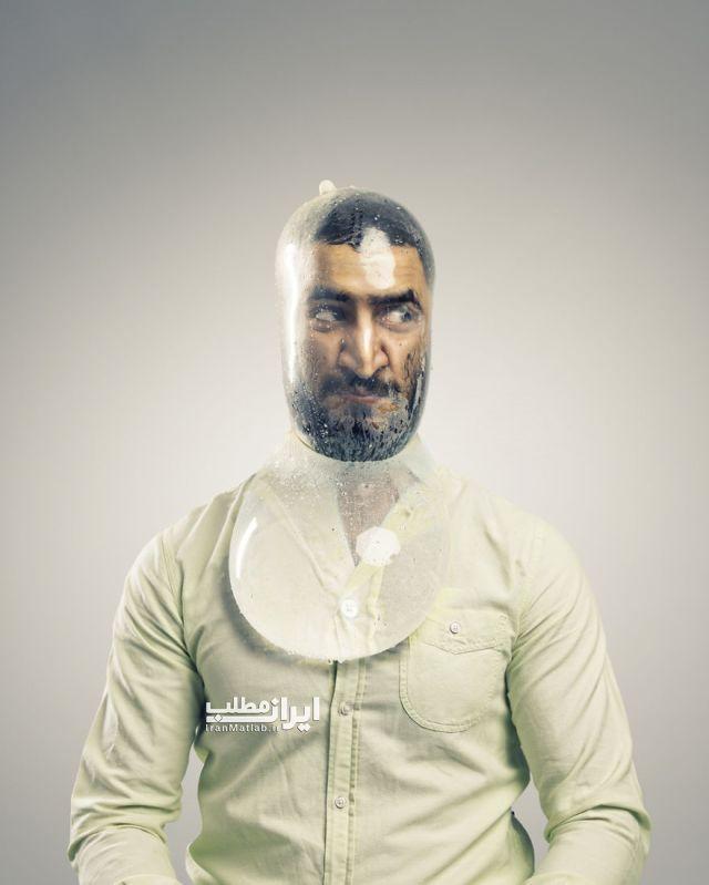 هنرنمایی خفن و خنده دار با کاندوم + عکس