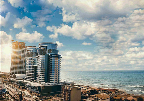 اولین هتل ساحلی خارجی در ایران +عکس
