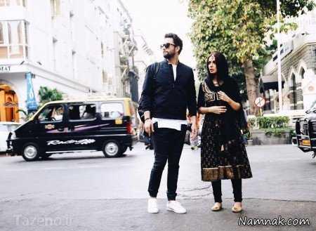همسر هندی بنیامین بهادری در فیلم سلام بمبئی + تصاویر