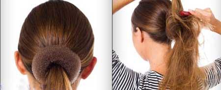 مدل مو – شینیون به روش ساده
