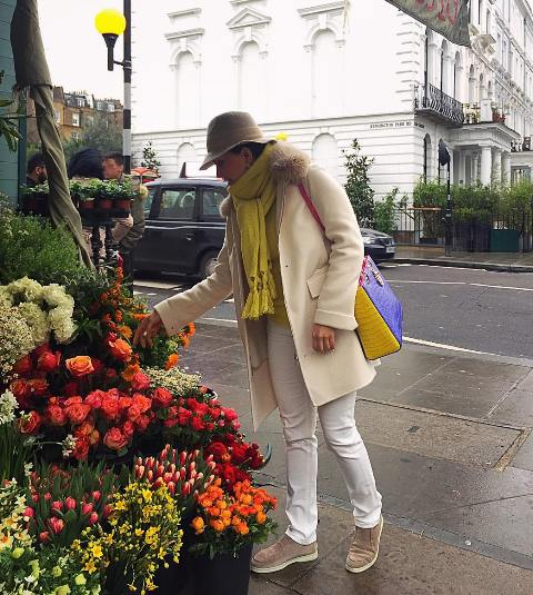 تیپ الناز شاکردوست در لندن