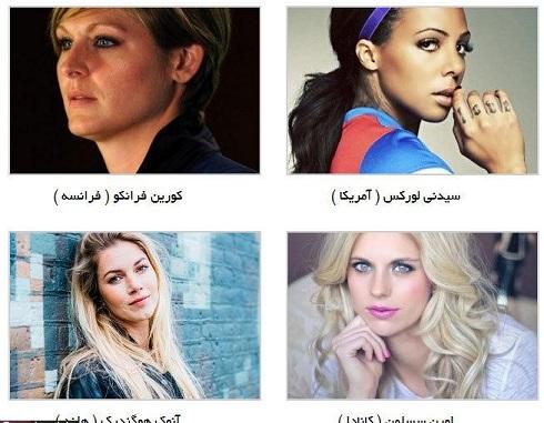 زیباترین زنان فوتبالیست جهان