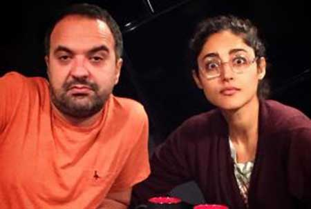 گلشیفته فراهانی با مجری معروف تلویزیون ازدواج کرد!!! +عکس