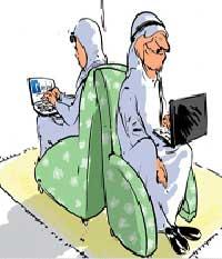 زندگی مشترک, استفاده از شبکه های اجتماعی
