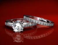 بعد از نامزدی, برگزاری جشن عروسی, حلقه نامزدی