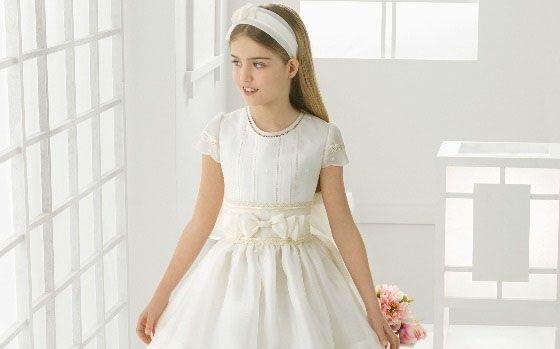 مدل لباس بچگانه عروس برند رزا کلارا 2016