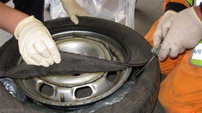 عجیب ترین جاسازی مواد مخدر توسط قاچاقچیان