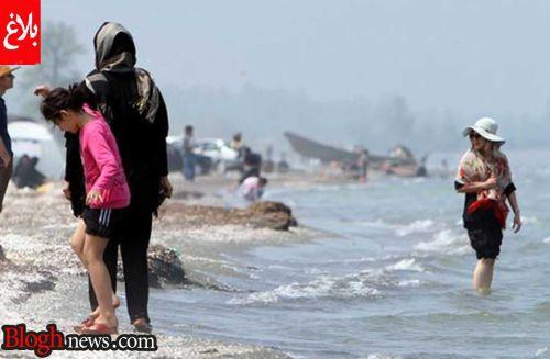 دختران بدحجاب تهرانی در سواحل شمال ایران +عکس