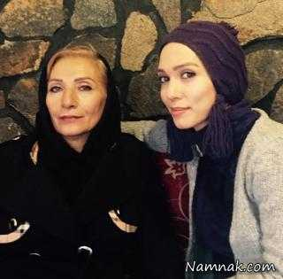عکس بازیگران ایرانی در کنار خانواده هایشان