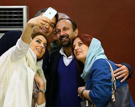 عکس بازیگران زن ایرانی با حجابی تاسف بار